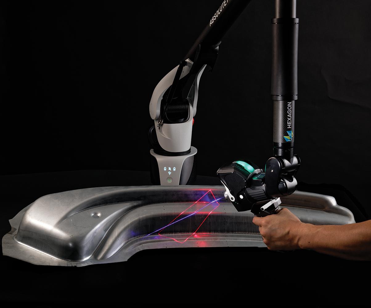Hexagon's RS6 3D laser scanner.