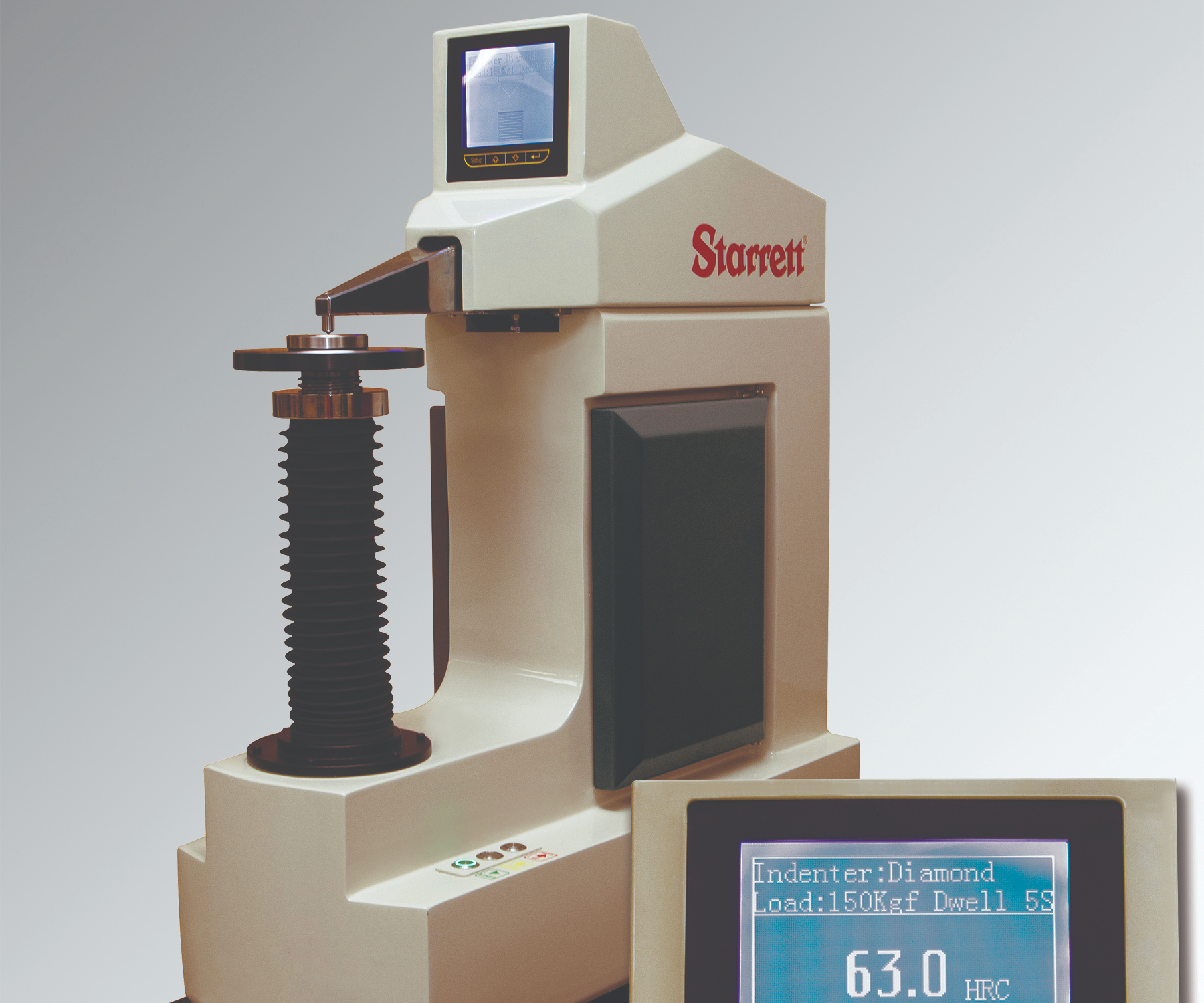 Starrett'sNo. 3824 hardness tester