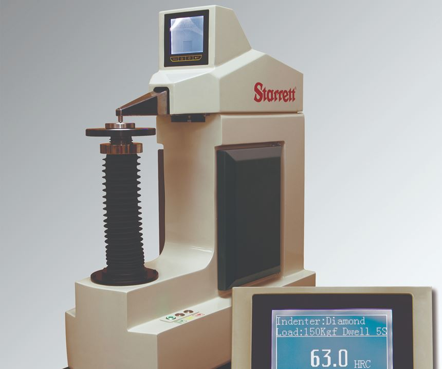 Starrett's No. 3824 hardness tester