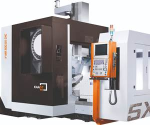 Kaast's V-Mill 600.5X Provides High Stability for Die/Mold Machining