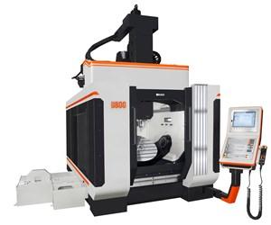 Takumi's U800 Five-Axis Machine Designed for Die/Mold, Aerospace Applications