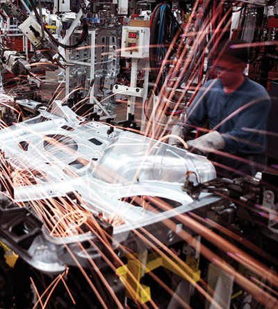 Advanced Manufacturing in the Automotive Industry