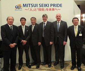 Mitsui Seiki's 90th anniversary of founding