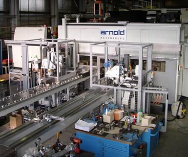 Arnold laser processing machine