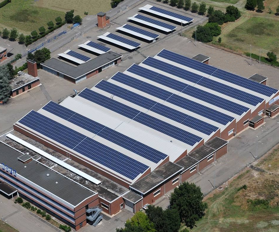 Meccanica Nova's photovoltaic power system