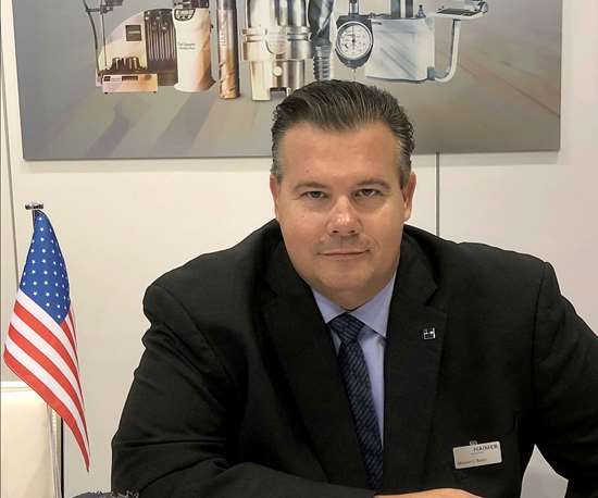 Steven Baier, Haimer's new VP of sales