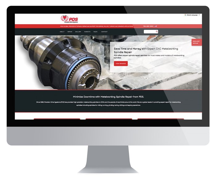 Precision Drive Systems website