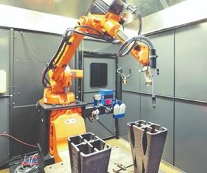 robotic arm additive manufacturing