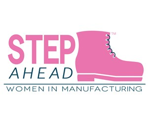 Women in Manufacturing STEP Ahead logo