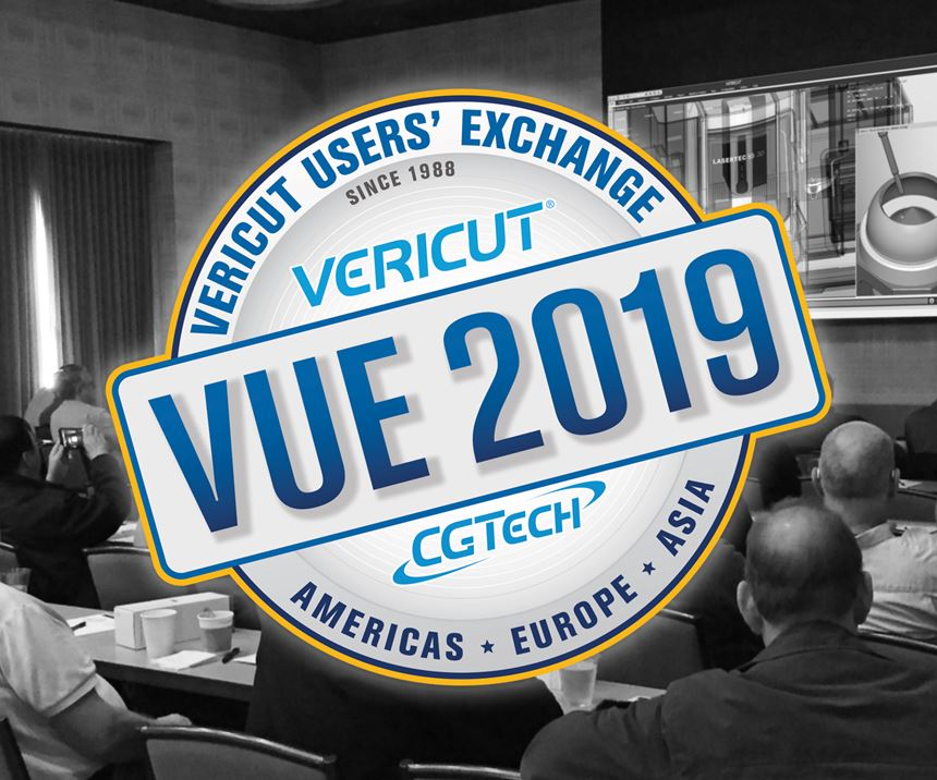 CGTech Vericut Users' Exchange logo