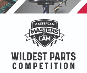 Masters of CAM Wildest Parts Competition
