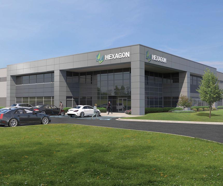 Hexagon facility rendering