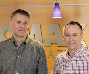 Mike Ruppenthal and Steve Ulmer of Omax