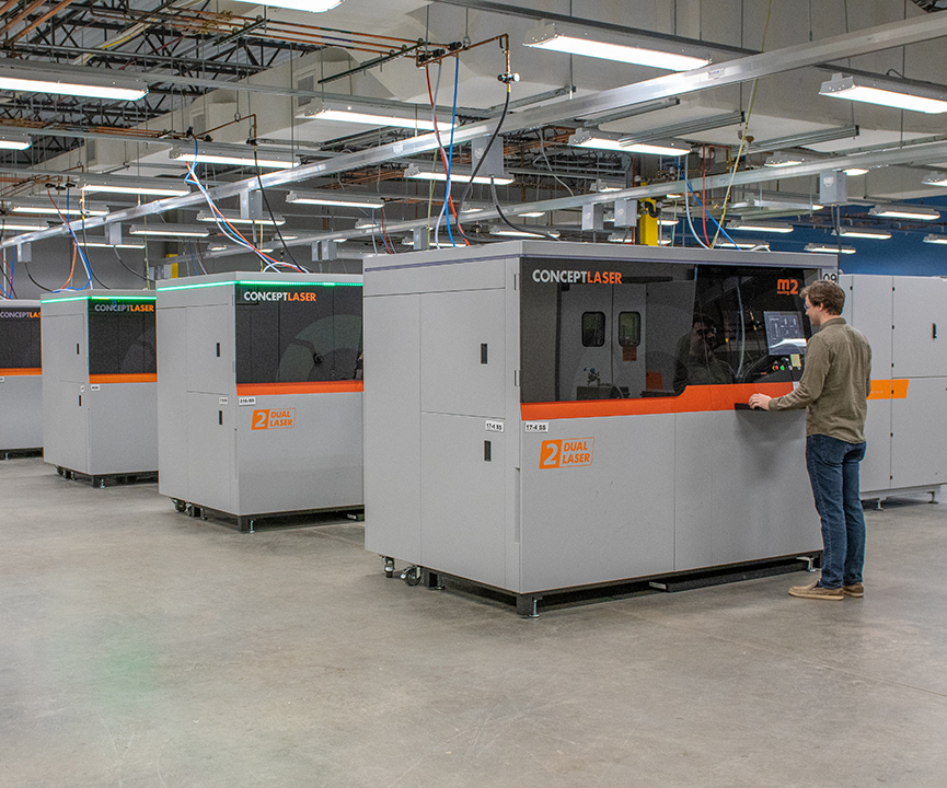 Protolabs additive manufacturing machines