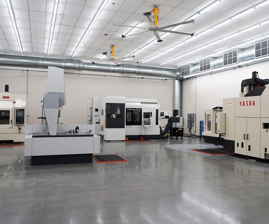 Precision Center interior.