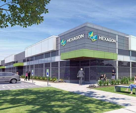 Hexagon Canada rendering