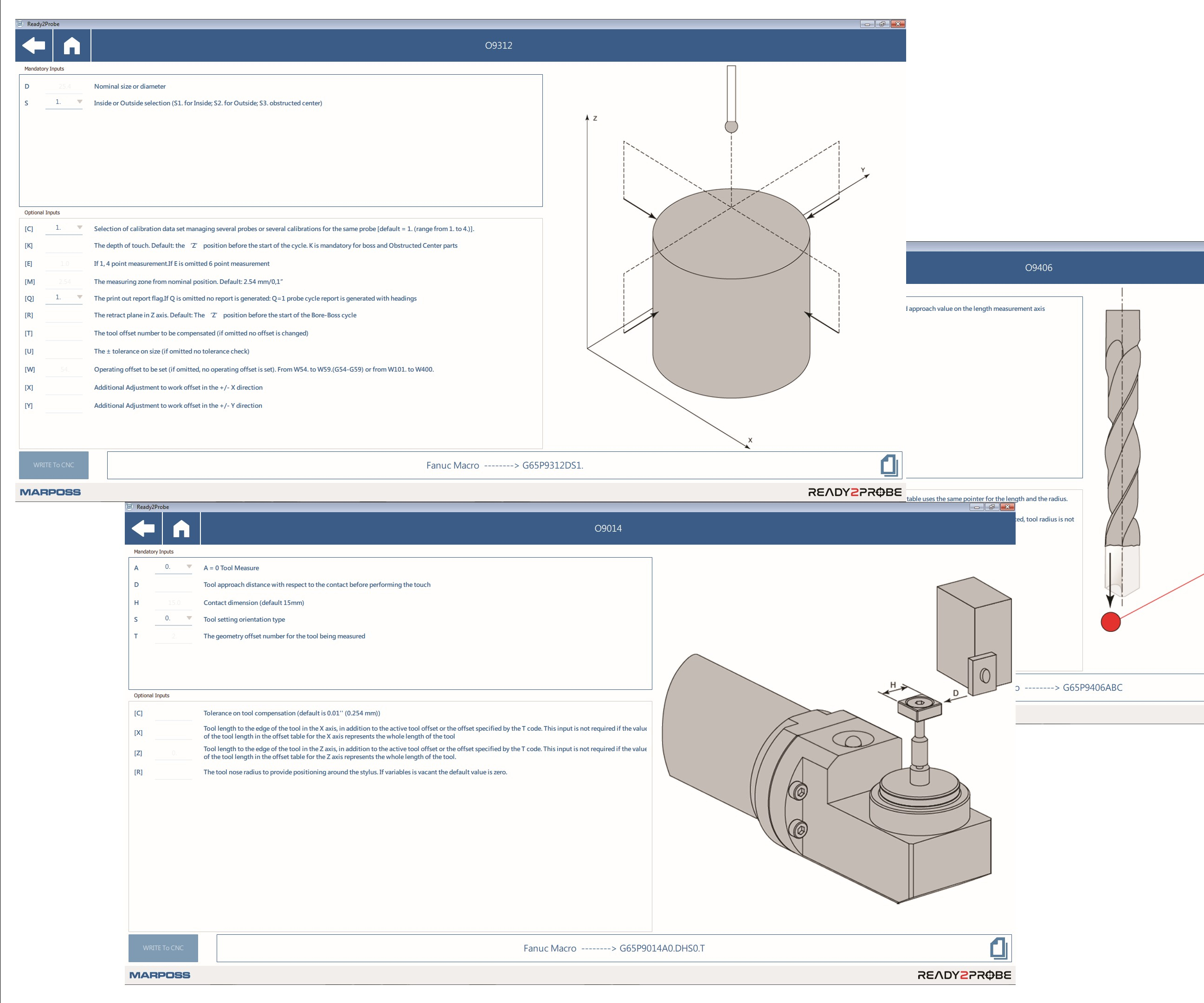Marposs Corp., Ready2Probe software application