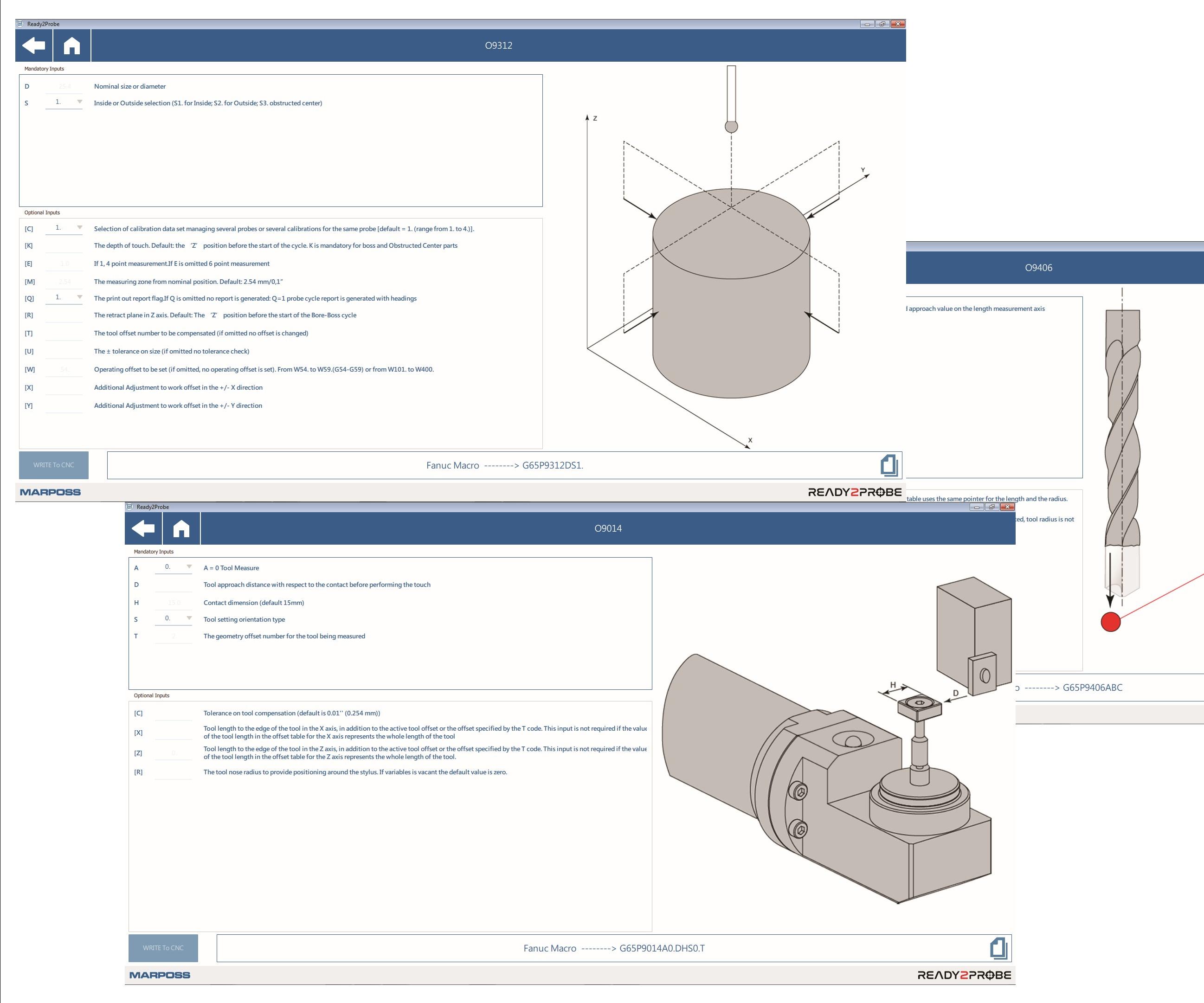Marposs Corp., Ready2Probe software application