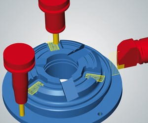 Open Mind Technologies' HyperMill Mill-Turn Machining module.