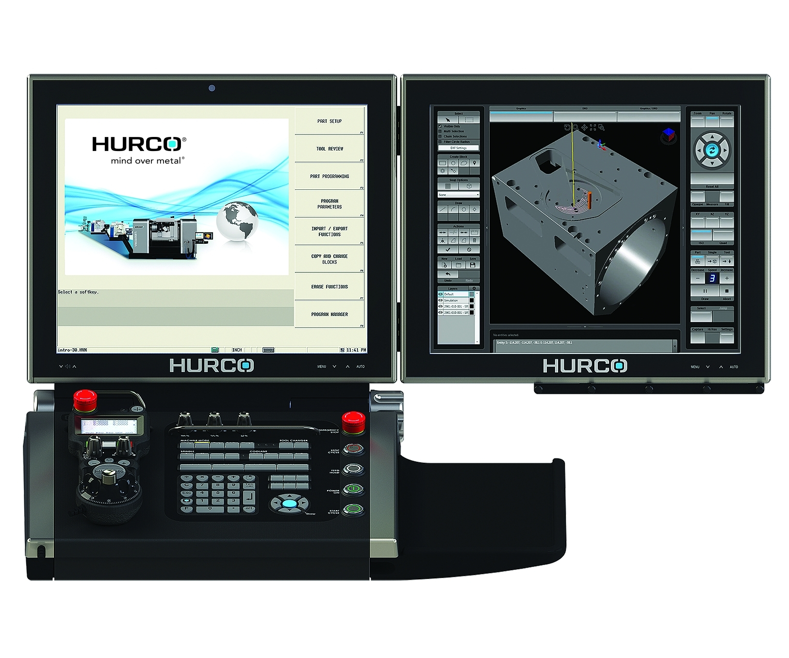 Hurco Max5 control