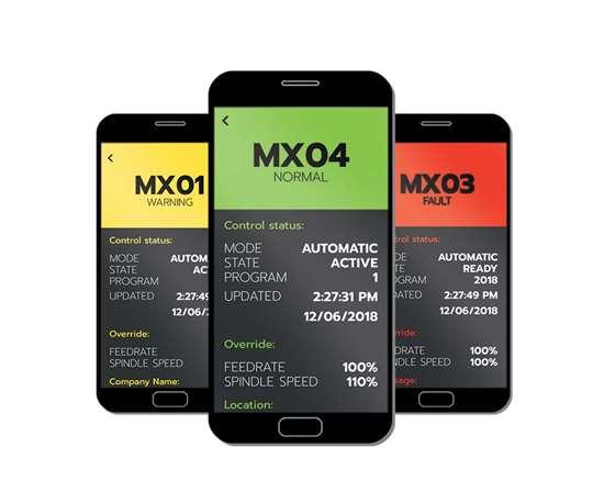 Integrated Machine Analytics Mobile App