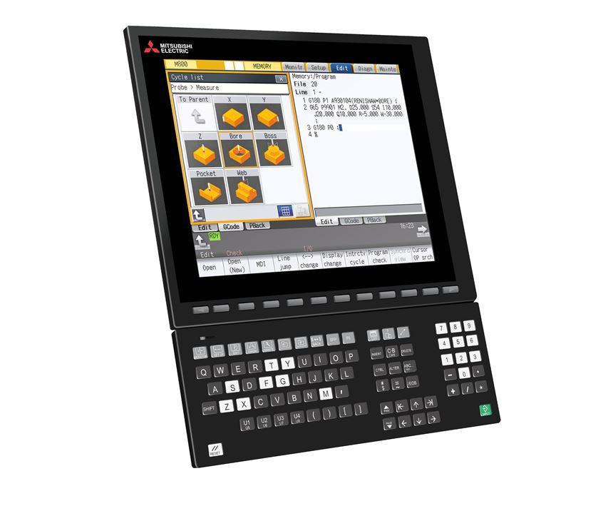 Mitsubishi Interactive Cycle Insertion Screens.