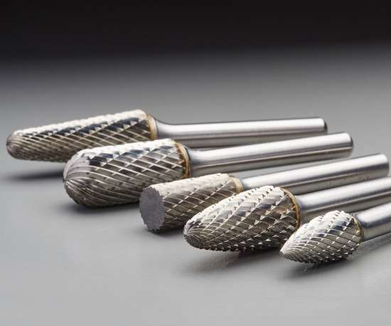 Norton carbide burrs