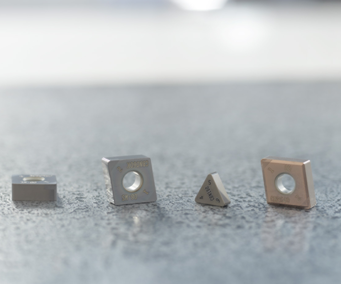 Seco Tools' line of PCBN (polycrystalline cubic boron nitride) inserts.