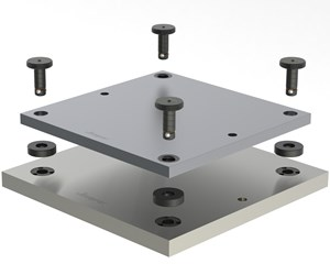 Jergens' Ball Lock Fixture Plate Kit Improves Subplate Security