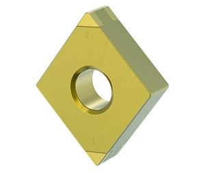 PCBN Inserts from Kennametal Make Hard Turning More Cost-Effective