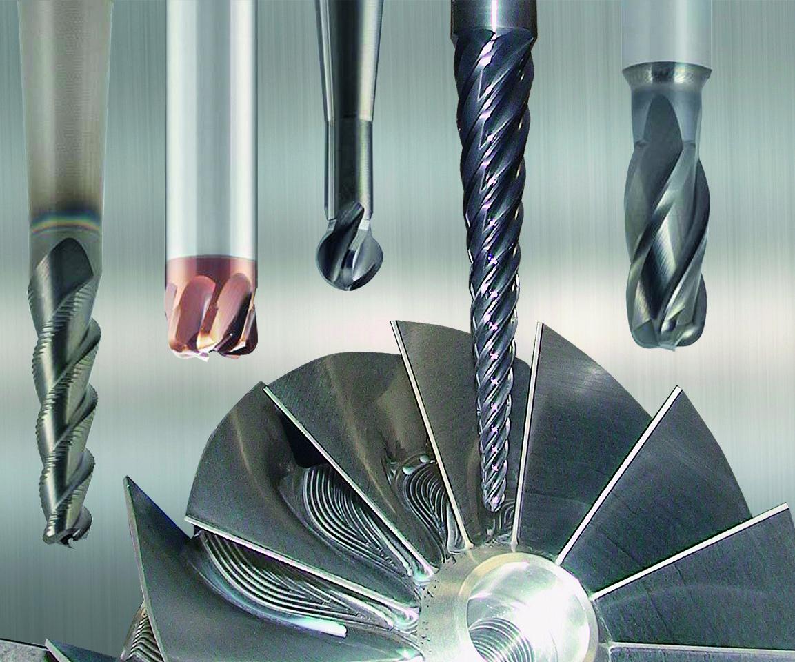 Emuge Corp.'s Emuge Turbine end mills line.