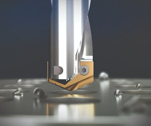 YG-1's SV-Point Spade Drill Enables Higher Feeds and Speeds
