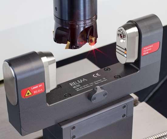 Blum-Novotest's LC50-DigiLog laser measuring system.