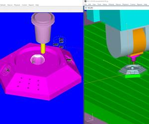 NCCS' NCL multi-axis machining software.