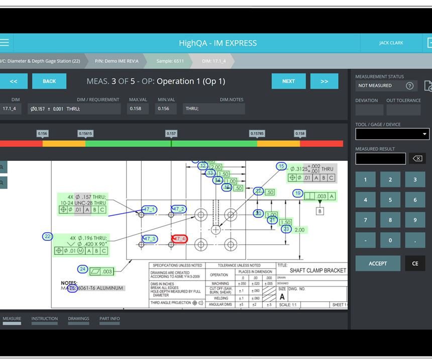 High QA's Inspection Manager Quality Management Software.