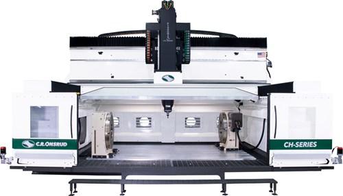 C.R. Onsrud Compact High Rail 5-axis machining center.