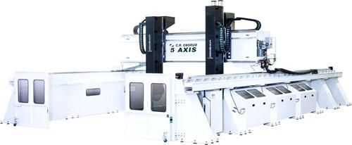 CR Onsrud High Rail Gantry CNC machining center