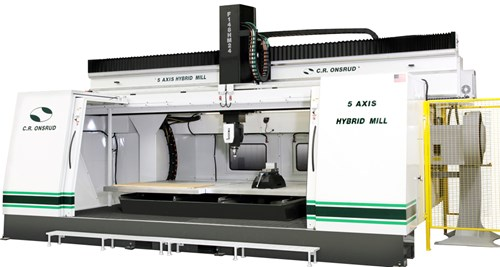 C.R Onsrud Hybrid Mill 5-axis Series Machining Center