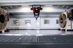 C.R Onsrud Hybrid Mill 5 Series Machining Center