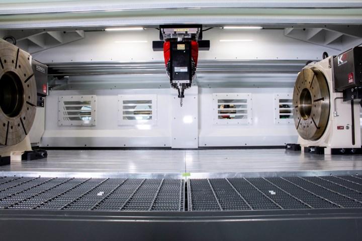 CR Onsrud Compact High Rail 5-Axis Machining Center