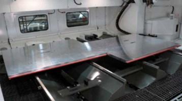 C.R Onsrud Hybrid Mill twin tables