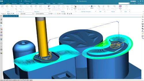 Siemens NX Adaptive Milling