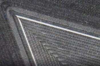 Siemens NX flow milling finish cut magnified 25x.