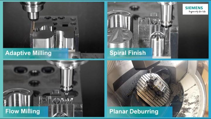 Siemens High Performance Milling Techniques webinar