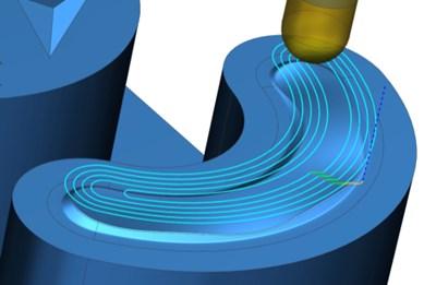 Siemens NX rest milling