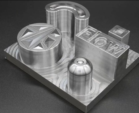 Siemens NX high performance milling test part