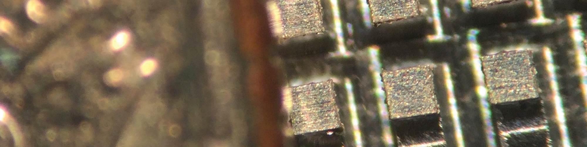 micromachining banner photo