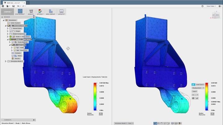 Autodesk PowerShape stress analysis
