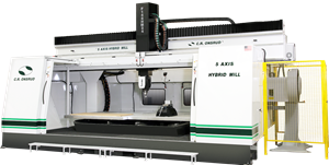 5-Axis Enclosed E-Series CNC Router