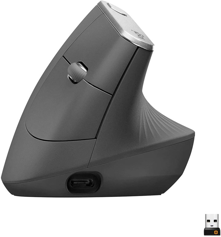 2020 Metalworking Holiday Gift Guide - Vertical Wireless Mouse